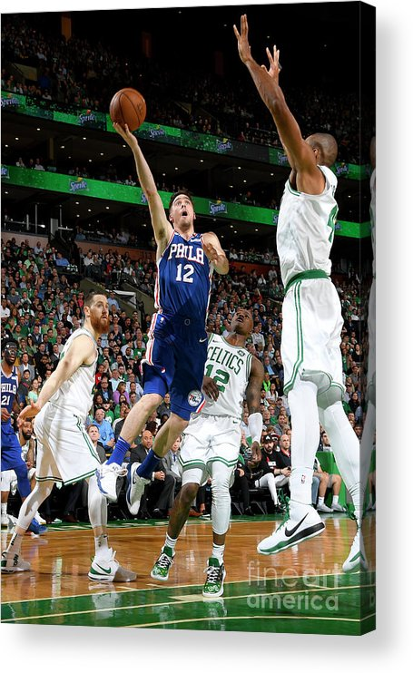Playoffs Acrylic Print featuring the photograph T.j. Mcconnell by Brian Babineau