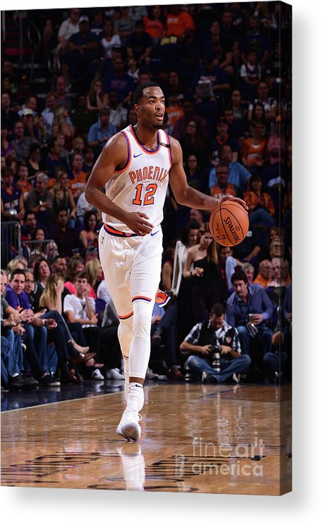 Nba Pro Basketball Acrylic Print featuring the photograph T.j. Warren by Michael Gonzales
