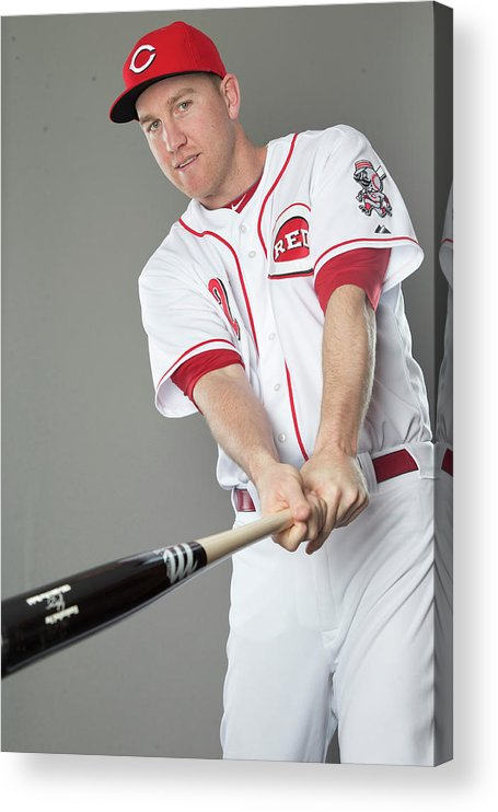 People Acrylic Print featuring the photograph Todd Frazier by Mike Mcginnis