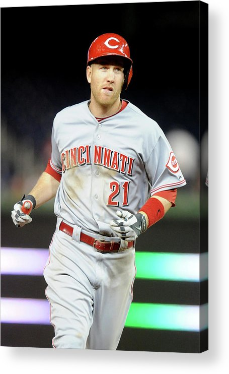 People Acrylic Print featuring the photograph Todd Frazier by Mitchell Layton