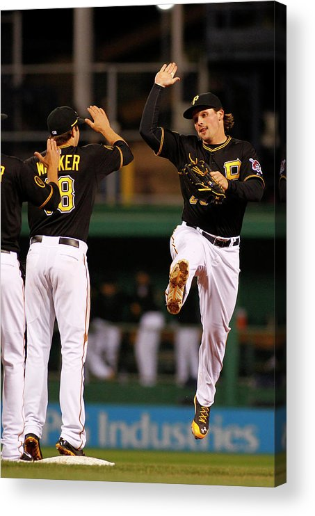 Professional Sport Acrylic Print featuring the photograph Travis Snider by Justin K. Aller