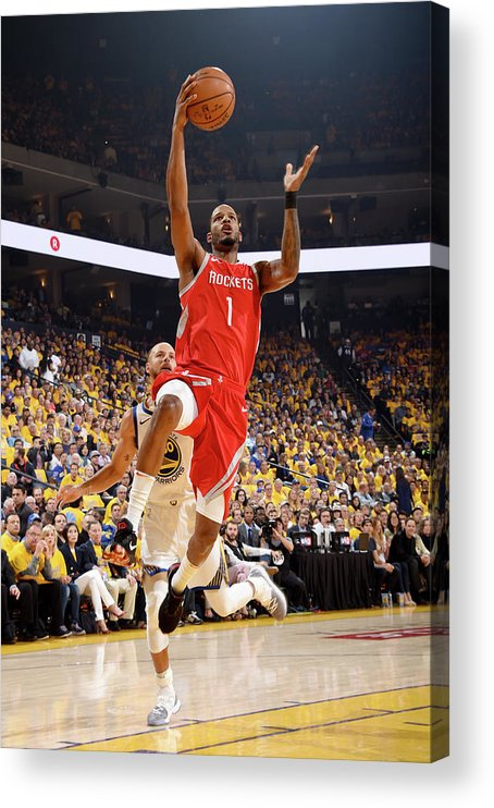 Playoffs Acrylic Print featuring the photograph Trevor Ariza by Andrew D. Bernstein