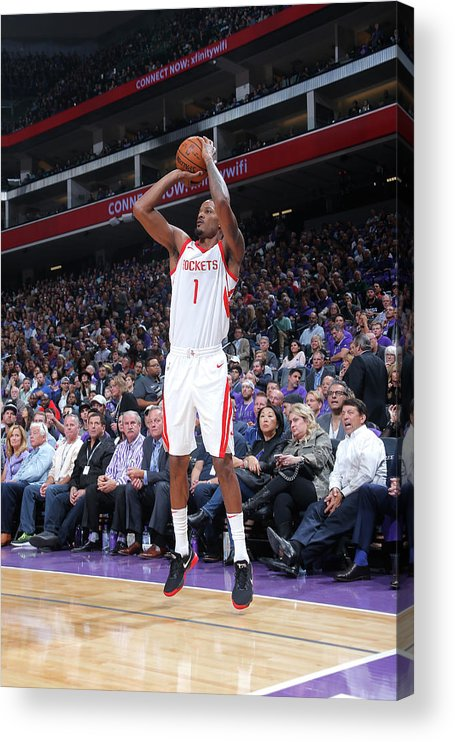 Nba Pro Basketball Acrylic Print featuring the photograph Trevor Ariza by Rocky Widner