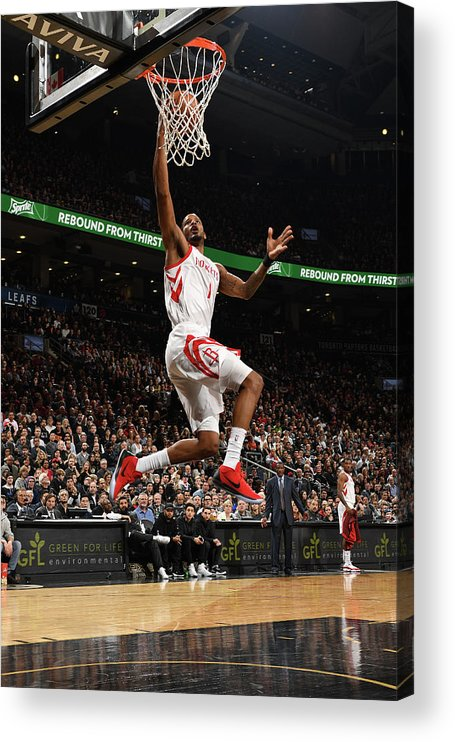 Nba Pro Basketball Acrylic Print featuring the photograph Trevor Ariza by Ron Turenne