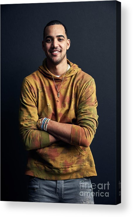 Event Acrylic Print featuring the photograph Trey Lyles by Jennifer Pottheiser