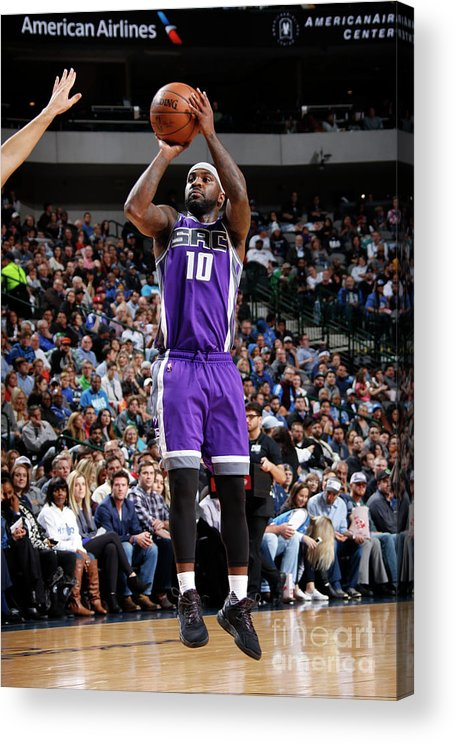 Nba Pro Basketball Acrylic Print featuring the photograph Ty Lawson by Danny Bollinger
