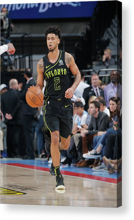 Nba Pro Basketball Acrylic Print featuring the photograph Tyler Dorsey by Rocky Widner