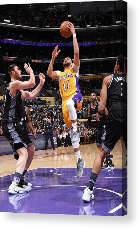Nba Pro Basketball Acrylic Print featuring the photograph Tyler Ennis by Andrew D. Bernstein