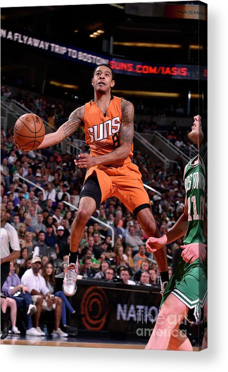Nba Pro Basketball Acrylic Print featuring the photograph Tyler Ulis by Barry Gossage
