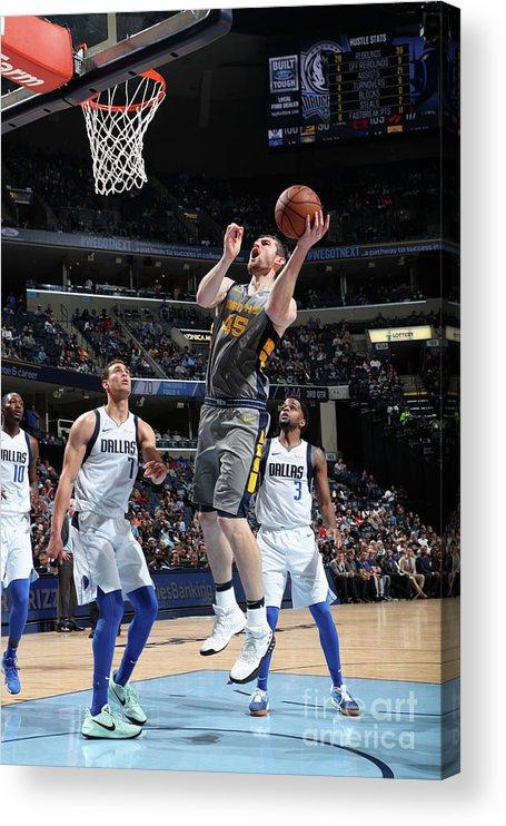 Nba Pro Basketball Acrylic Print featuring the photograph Tyler Zeller by Joe Murphy