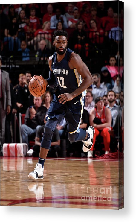 Nba Pro Basketball Acrylic Print featuring the photograph Tyreke Evans by Bill Baptist