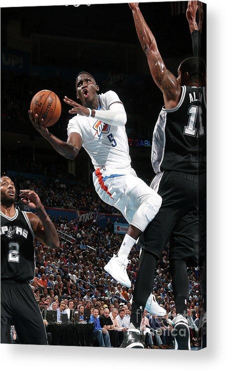 Nba Pro Basketball Acrylic Print featuring the photograph Victor Oladipo by Layne Murdoch