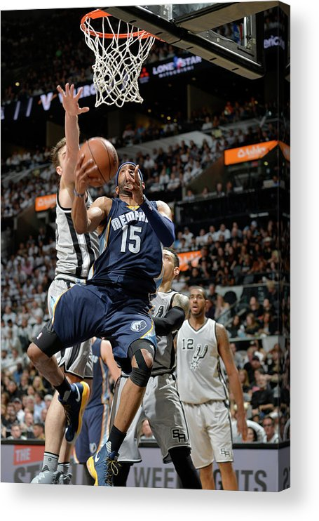 Playoffs Acrylic Print featuring the photograph Vince Carter by Mark Sobhani