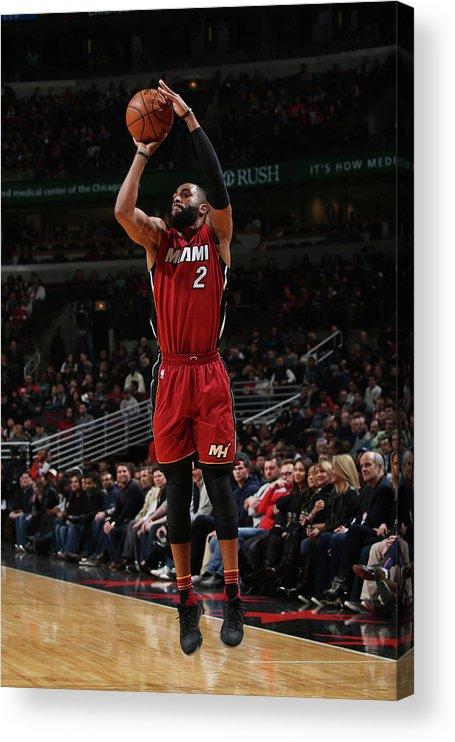 Nba Pro Basketball Acrylic Print featuring the photograph Wayne Ellington by Gary Dineen