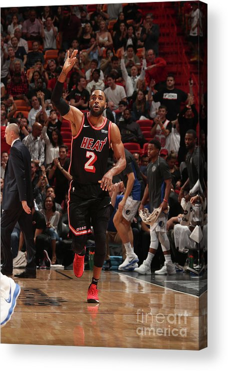 Nba Pro Basketball Acrylic Print featuring the photograph Wayne Ellington by Issac Baldizon