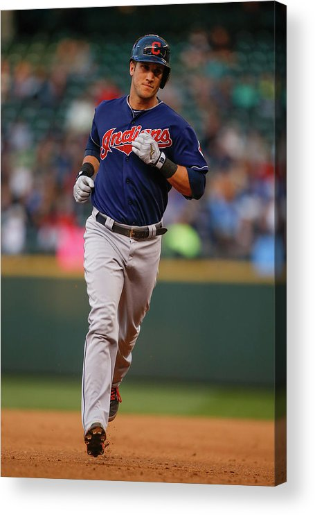 American League Baseball Acrylic Print featuring the photograph Yan Gomes by Otto Greule Jr