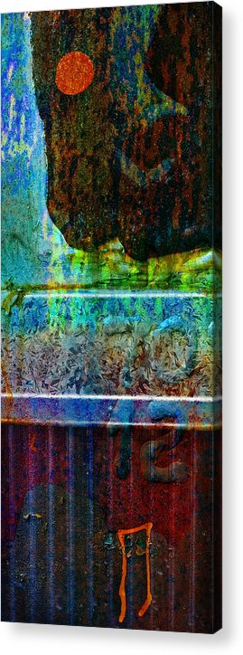 Pi Acrylic Print featuring the photograph piNsky by Skip Hunt
