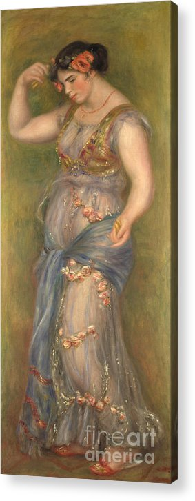 Oil Painting Acrylic Print featuring the drawing Dancing Girl With Castanets, 1909 by Heritage Images