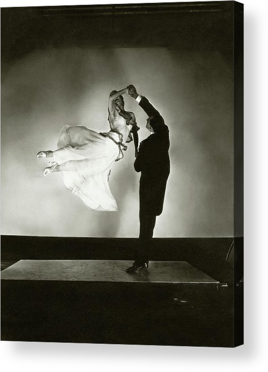 Dance Acrylic Print featuring the photograph Antonio And Renee De Marco Dancing by Edward Steichen