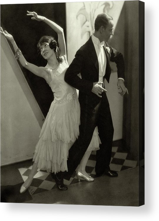 Actor Acrylic Print featuring the photograph Dancers Fred And Adele Astaire by Edward Steichen
