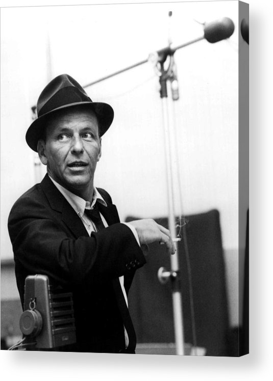 Frank Acrylic Print featuring the photograph Frank Sinatra by Retro Images Archive
