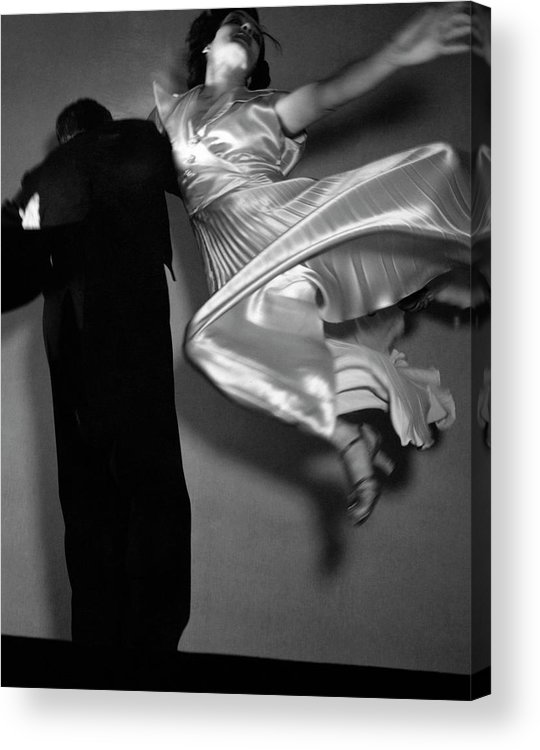 Dance Acrylic Print featuring the photograph Grace And Paul Hartman Dancing by Edward Steichen