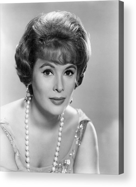 Jill St. John Acrylic Print featuring the photograph Jill St. John by Silver Screen
