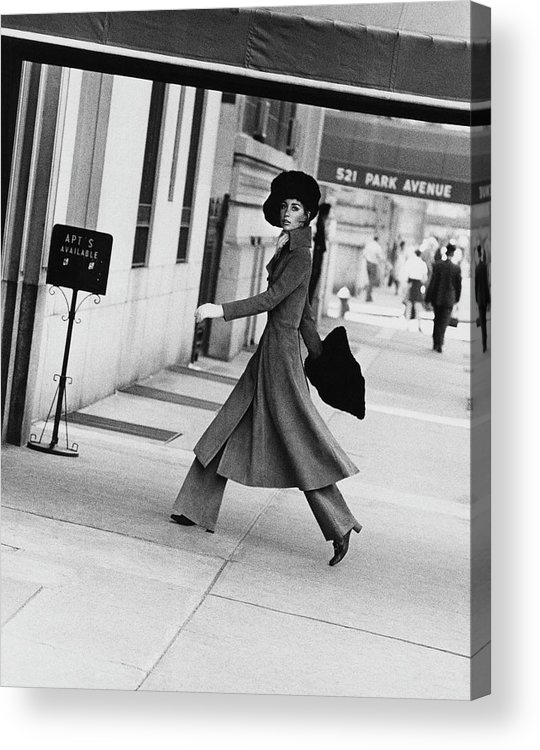 Accessories Acrylic Print featuring the photograph Windsor Elliot Walking Toward An Apartment by Jack Robinson