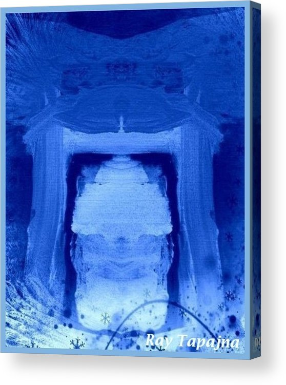 Yesterday Dreams Acrylic Print featuring the mixed media Tabernacle of Hope by Ray Tapajna