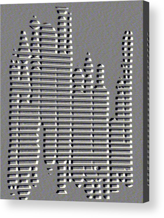 Art Supplies Acrylic Print featuring the digital art Artist Arsenal by Tammera Malicki-Wong