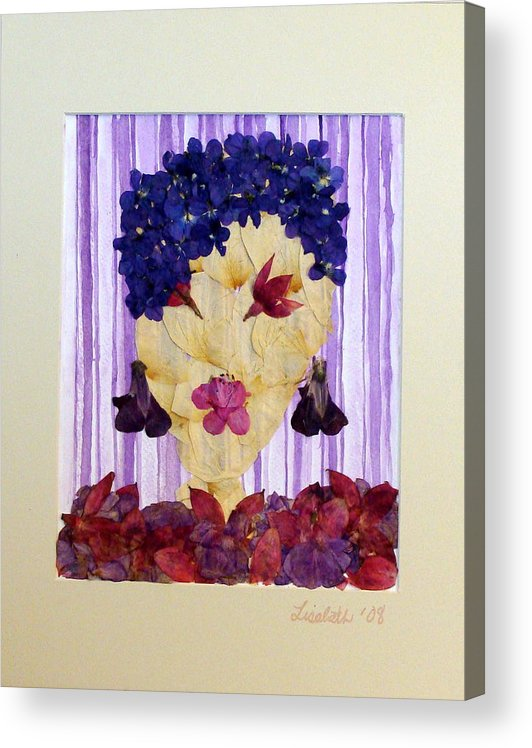 Acrylic Print featuring the mixed media Caio Baby by Lisabeth Billingsley