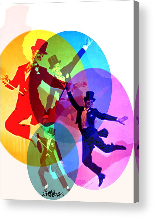 Dancing On Air Acrylic Print featuring the digital art Dancing on Air by Seth Weaver