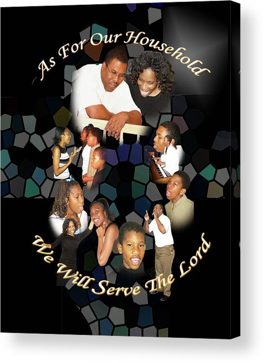 Family Acrylic Print featuring the photograph Family Serving by Richard Gordon