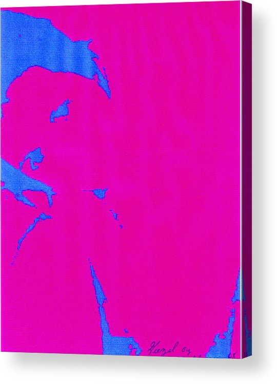 French Girl Acrylic Print featuring the photograph Gisele a French Girl by Dawn Johansen