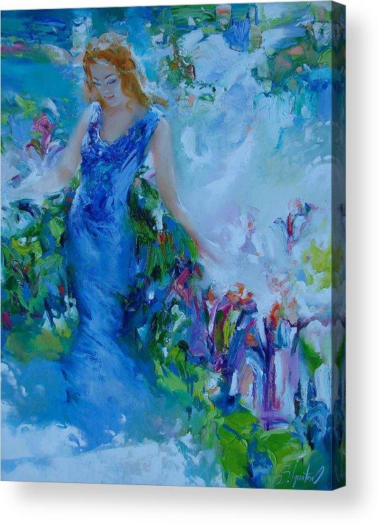 Ignatenko Acrylic Print featuring the painting May by Sergey Ignatenko
