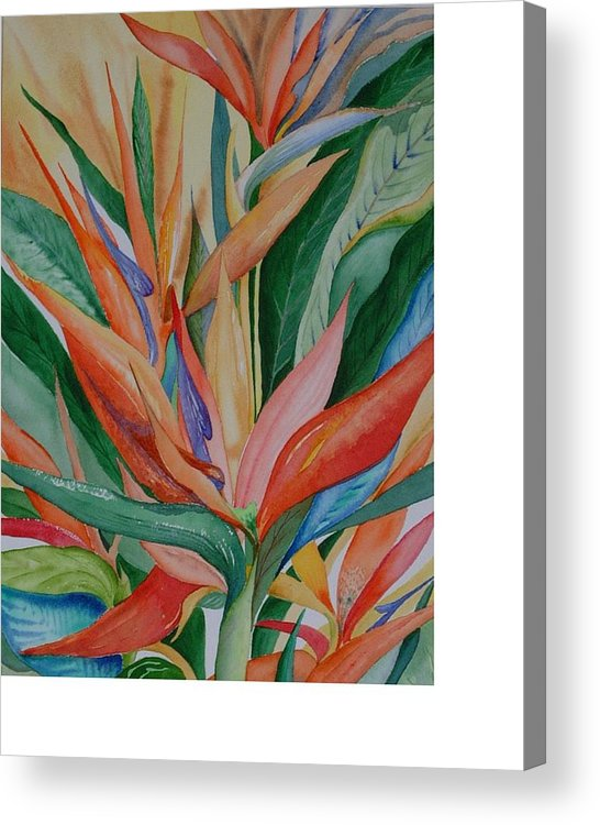 Florida Acrylic Print featuring the painting Paradise Memories by Rebecca Marona