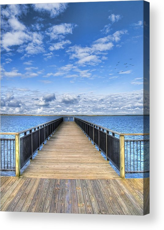 Hdr Acrylic Print featuring the photograph Summer Bliss by Tammy Wetzel