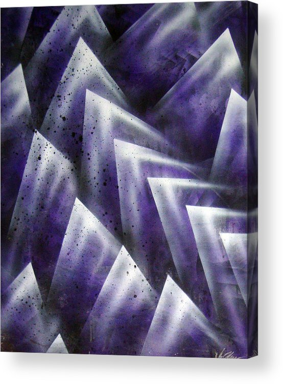 Organic Acrylic Print featuring the painting Upward by Leigh Odom