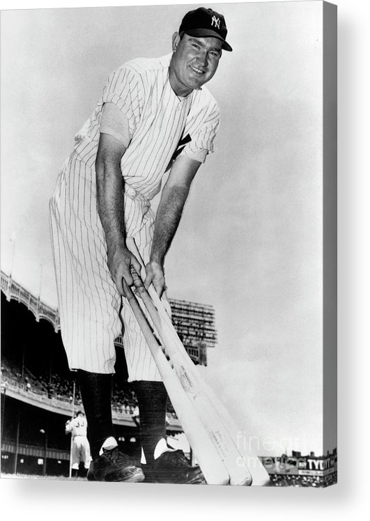 1940-1949 Acrylic Print featuring the photograph National Baseball Hall Of Fame Library by National Baseball Hall Of Fame Library