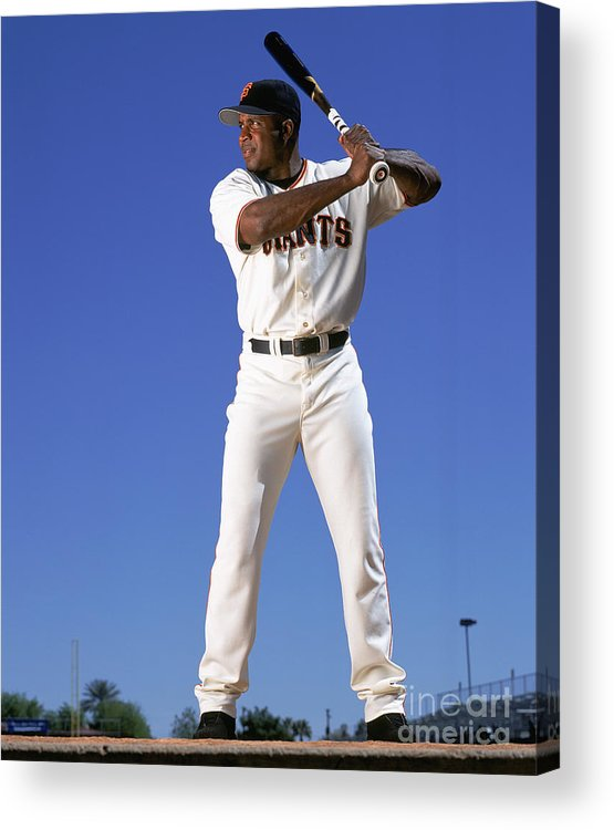 Arizona Acrylic Print featuring the photograph Barry Bonds by Andy Hayt