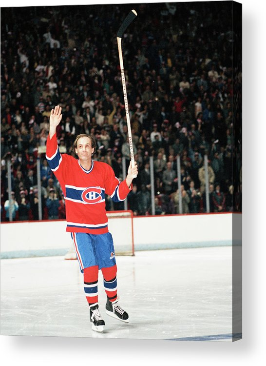 Following Acrylic Print featuring the photograph Denis Brodeur Collection by Denis Brodeur