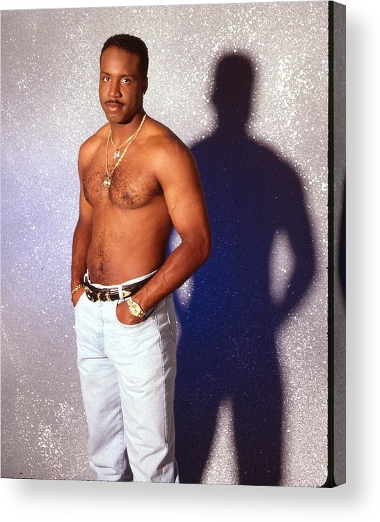 California Acrylic Print featuring the photograph Barry Bonds Portrait Session by Harry Langdon