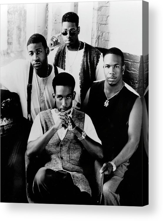 Expertise Acrylic Print featuring the photograph Boyz II Men by Afro Newspaper/gado