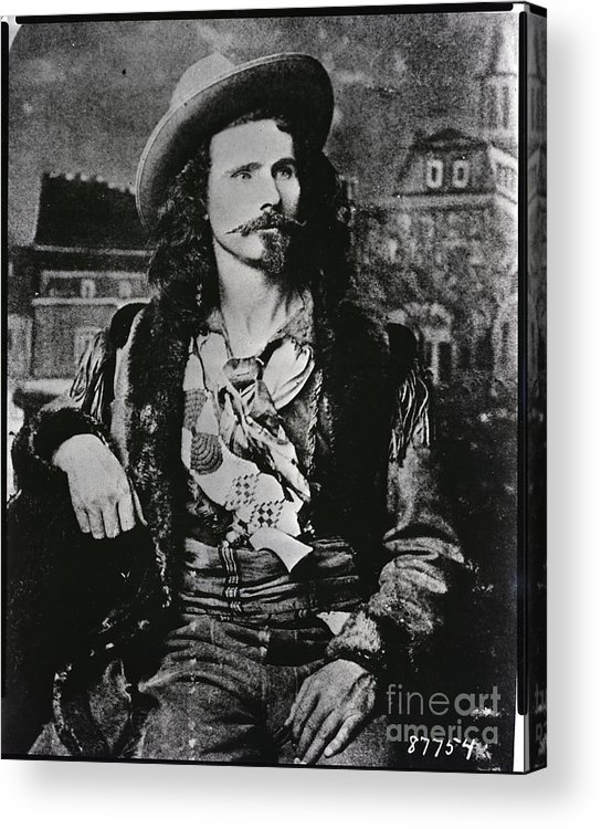 People Acrylic Print featuring the photograph Jack Crawford Poet And Scout by Bettmann