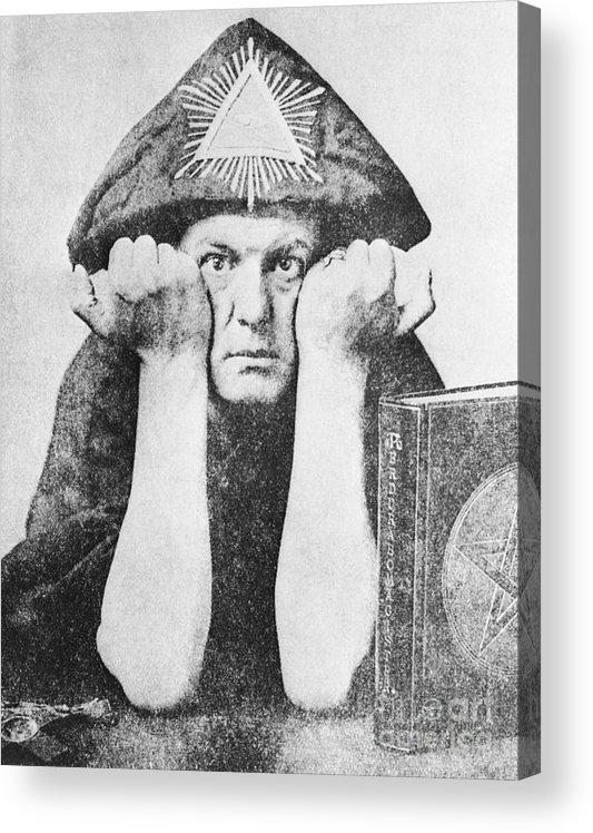 Aleister Crowley Paintings