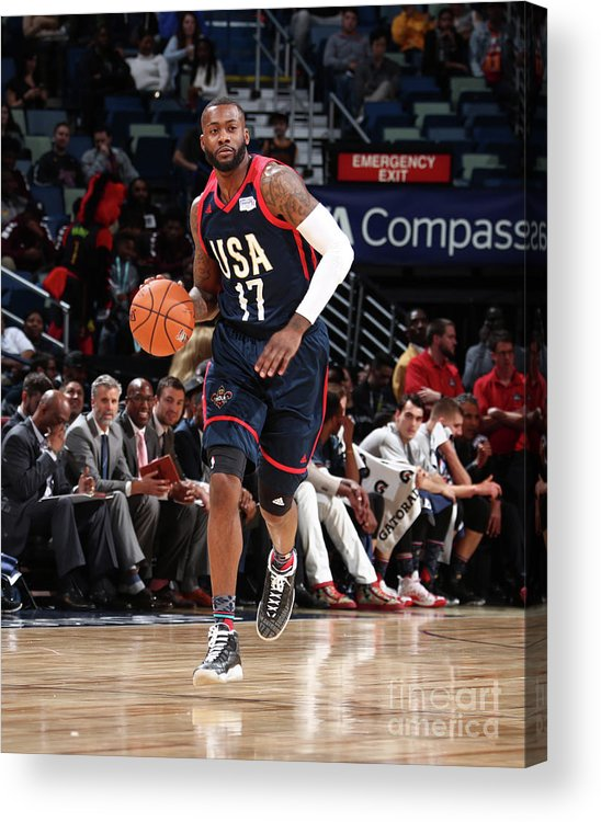 Event Acrylic Print featuring the photograph Jonathon Simmons by Nathaniel S. Butler
