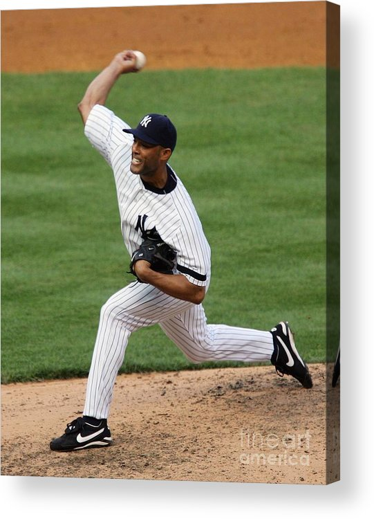 People Acrylic Print featuring the photograph Mariano Rivera by Jim Mcisaac