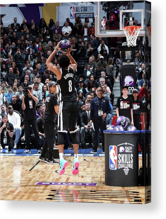 Event Acrylic Print featuring the photograph Spencer Dinwiddie by Nathaniel S. Butler