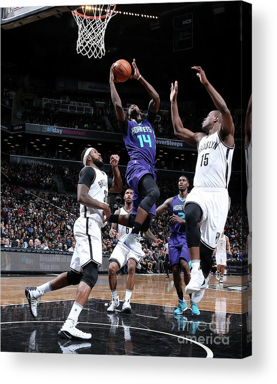 Nba Pro Basketball Acrylic Print featuring the photograph Michael Kidd-gilchrist by Nathaniel S. Butler