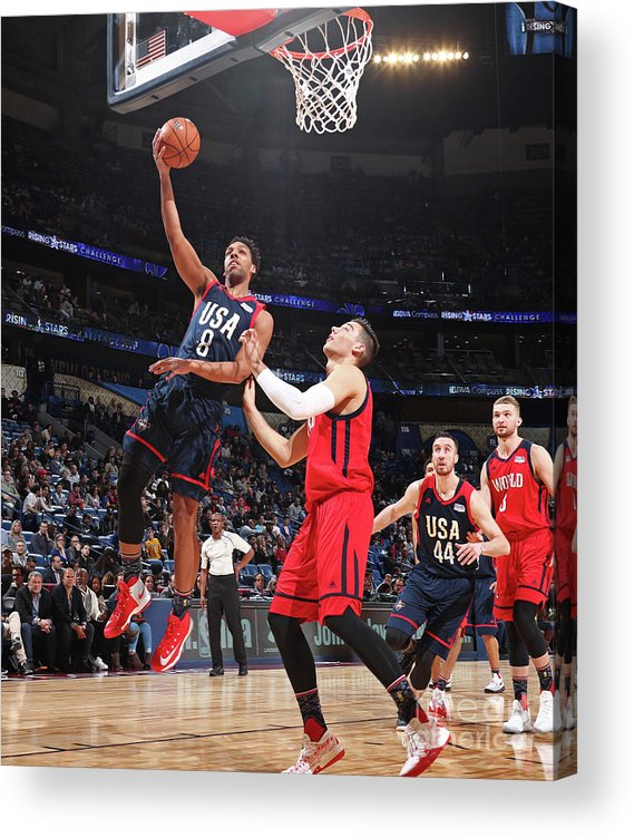 Event Acrylic Print featuring the photograph Jahlil Okafor by Nathaniel S. Butler